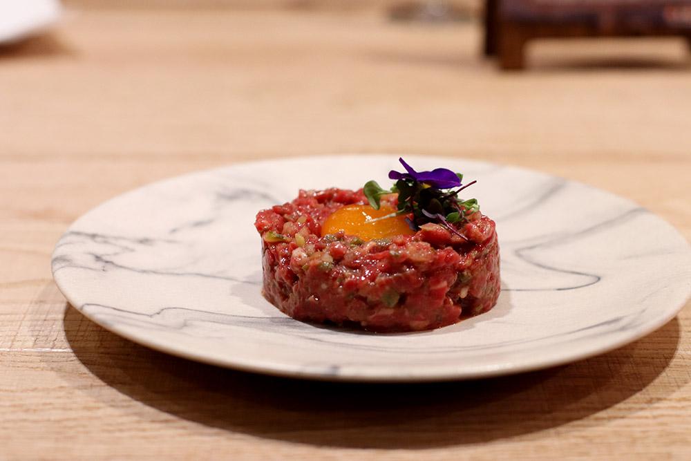 Steak tartar de rubia gallega
