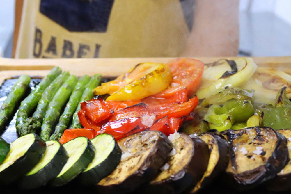 Parrillada de verduras (ideal para compartir)